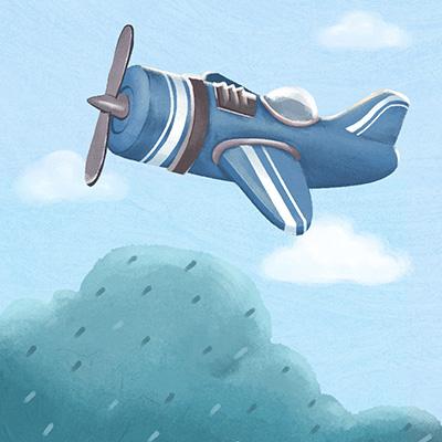 11-想飞上天的蓝豆