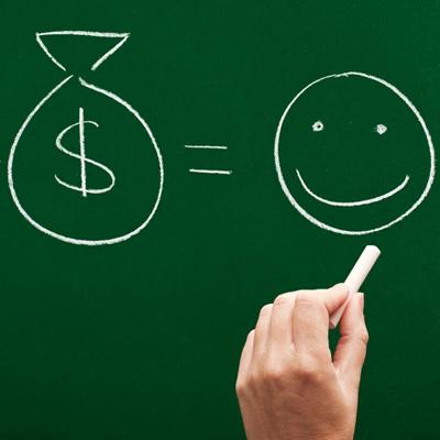 花钱带来的幸福感